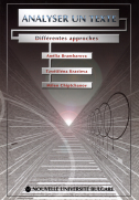 Analyser un texte : Defferentes approaches